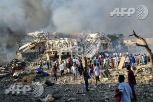Samedi 14 octobre un camion a explosé samedi devant le carrefour K5, un secteur très fréquenté de la capitale qui abrite bâtiments officiels, hôtels et restaurants. Deux heures plus tard environ, un second véhicule a explosé dans le quartier de Medina.