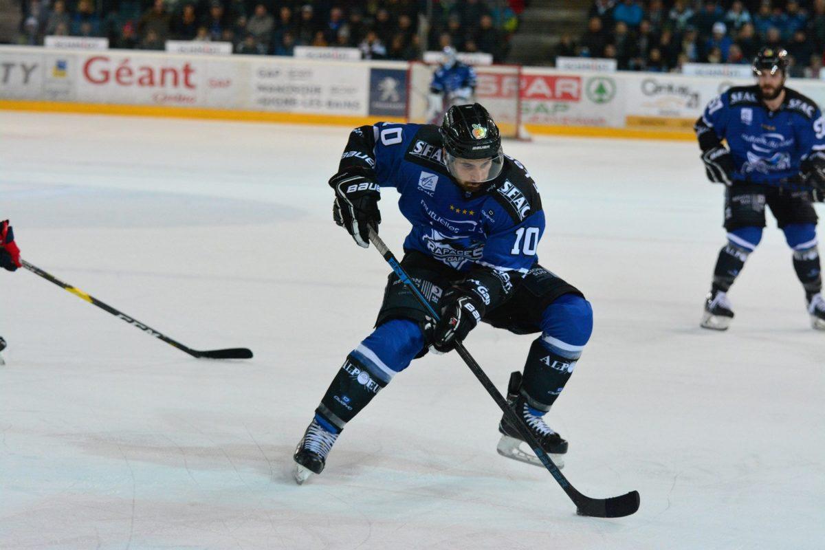 Hockey sur glace : Les Rapaces de Gap, équipe phare de la ligue Magnus.