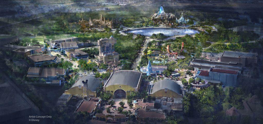Le futur parc Walt Disney Studios