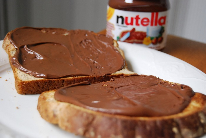 Tartine de Nutella, CC0